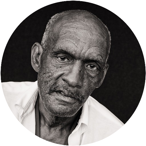 Older black man with fatigue